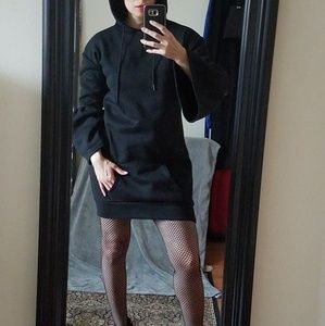 Dresses & Skirts - Statement Sleeve Hoodie Dress